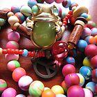 Peace Frog. by Marilyn Baldey