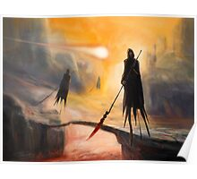 Lava Wraiths Poster