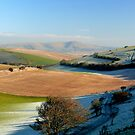 Mount Caburn from the Telscombe Road by mikebov