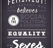 FEMINISM by dstardos