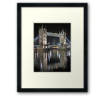 Tower Bridge reflections Framed Print