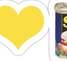 I Heart Spam Sticker