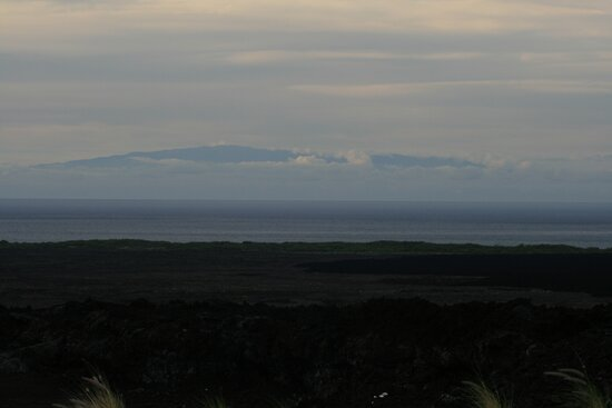 Valcano across the ocean by lovelyhere