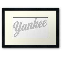 Yankee Pride Framed Print