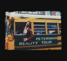 Seinfeld Peterman Reality Bus Tour Shirt by movieshirtguy