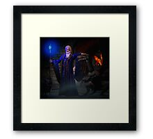 THE TIME TO LISTEN IS NOW Framed Print