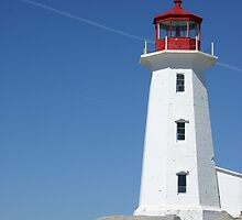 Peggy's Cove Lighthouse 3 by Alyce Taylor