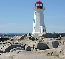 Peggy's Cove Lighthouse by Alyce Taylor