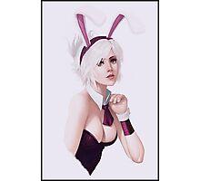 Bunny Riven League of Legends Art Photographic Print