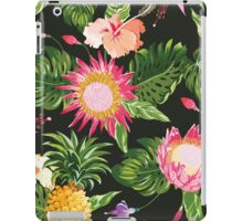 Tropical Flowers in vintage style iPad Case/Skin