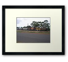 Old Faithful Shunt Engine Too Framed Print