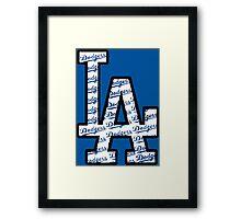 Dodgers Framed Print