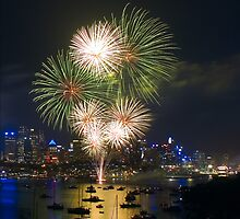 New Years Eve 2009 - Sydney by Dev Wijewardane