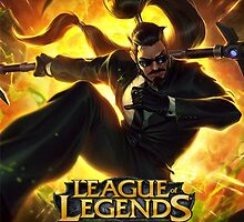 LEAGUE OF LEGENDS XIN ZHAO by lordhelix