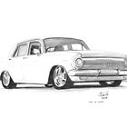 1964 EH Holden by Joseph Colella