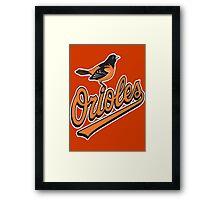 Orioles Framed Print