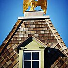 Detail of Historic House - St. Michaels, MD by Bine