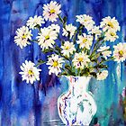 White Daisies by Lynda Cookson