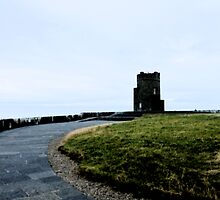 Cliffs of Moher Castle by damokeen