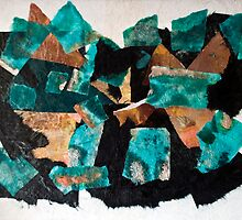 Black Sea, Broken Sky and Mountains by Mary Ann Reilly