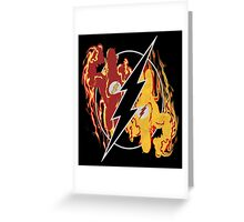 Flashpoint Paradox (black) Greeting Card