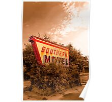 Sleeping At The Southern Motel Poster