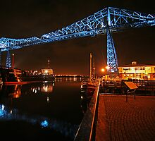 Middlesbrough Transporter Bridge by Stewart Laker