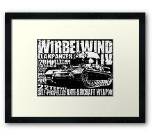 Wirbelwind Framed Print