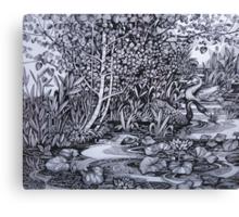 Sile river Canvas Print