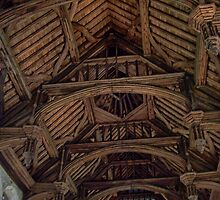 Wooden Roof from Eltham Palace by davesphotographics