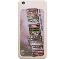 fall down the rabbit hole. iPhone Case/Skin
