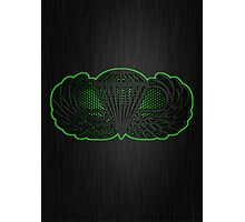 Android Metal Jump Wings Photographic Print
