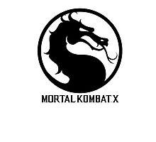 Mortal Kombat X LOGO Photographic Print