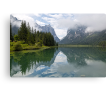 Lake Dobbiaco Canvas Print
