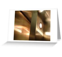 Lifted Door Reflections and Shadows Greeting Card