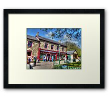 The Old Gwalia Store HDR Framed Print