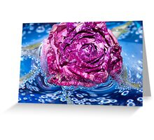 Quenched.  Greeting Card