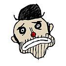 Sad Clown by cmdrk
