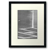 Fair Game Framed Print