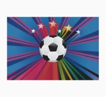 Soccer Ball with Stars 3 Kids Clothes