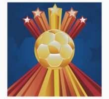Soccer Ball with Stars 5 Kids Clothes