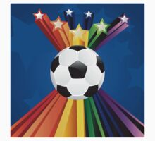 Soccer Ball with Stars 7 Kids Clothes