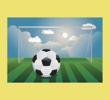Soccer Goal with Ball Kids Clothes