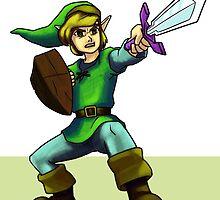Link, The Legend of Zelda by krls