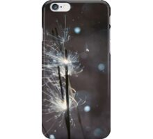 Sparkler and snow 2 iPhone Case/Skin