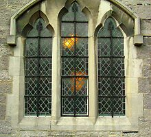Gothic Window by Orla Cahill