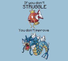 Magikarp #129 - Struggle! by NumberIX