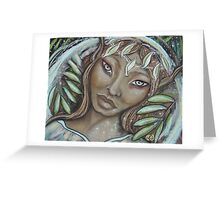 The Willow Faerie Greeting Card