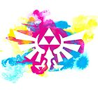 Watercolor Hyrule by Seignemartin