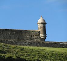 "Castile San Cristobel, Old San Juan, Commonwealth of Puerto Rico by Edmond J. [""Skip""] O'Neill"